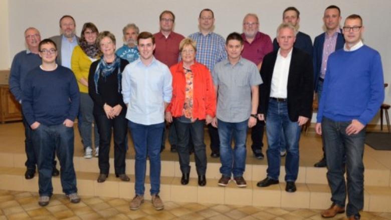 Vorstand des CDU GV Ensdorf